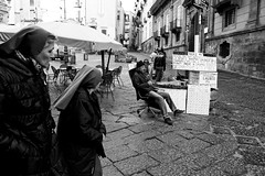 (New Ones Come In As The Old Ones Go) (Robbie McIntosh) Tags: leicam9p leica m9p rangefinder streetphotography 35mm leicam autaut candid strangers leicaelmarit28mmf28iii elmarit28mmf28iii elmarit 28mm blackandwhite napoli naples numbers nuns religion polone mathematics
