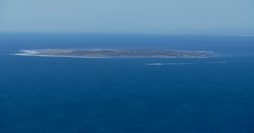 Robben Island from Signal Hill ...