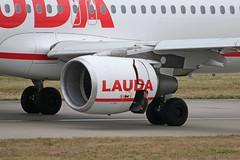 OE-LOA Airbus A320-214 Laudamotion after accident engine closeup Stansted 02nd March 2019 (michael_hibbins) Tags: oeloa airbus a320214 laudamotion after accident closeup stansted 02nd march 2019 aeroplane aircraft aerospace aviation airplane air aero airfields airport airports airliner airline airlines incident passanger passenger civil commercial plane planes jet jets explosion failiure ryanair