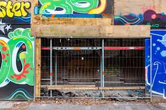 Tunnelbau (Rasande Tyskar) Tags: hamburg baustelle building site scaffolding gerüst bunt farben colours colourful