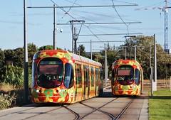 Montpellier Sabines 26.09.2007 (The STB) Tags: montpellier tram tramway streetcar strassenbahn strasenbahn publictransport citytransport öpnv transportpublic france french