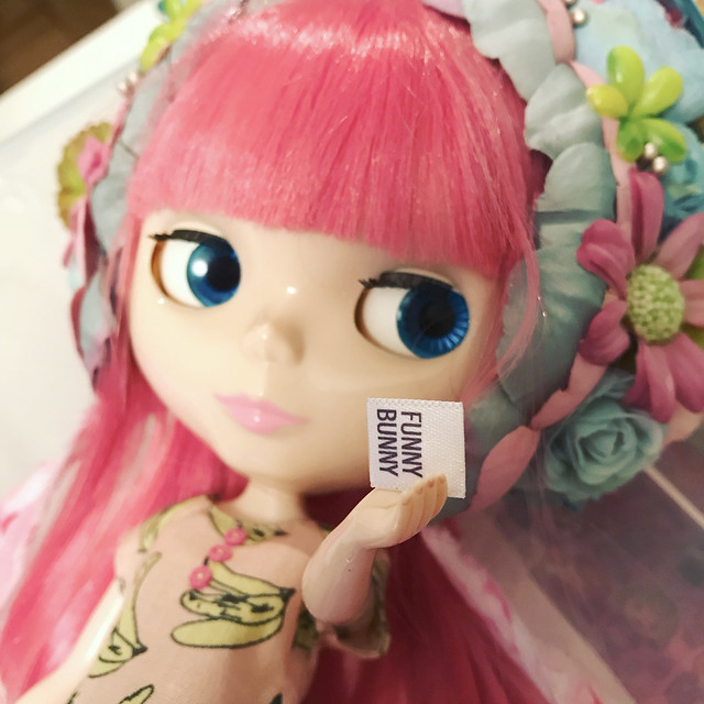 Candy Pink showing new label
