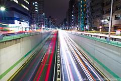 山手通りの光跡 (daidai3214) Tags: 夜景 光跡 山手通り 風景写真 東京夜景 東京都 目黒区 ペンタックス pentaxkp リコーイメージング ricohimaging richo pentax 多重露光 kp smcpentaxda15mmf4edallimited