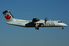 C-FACT (Air Canada Epress - JAZZ) (Steelhead 2010) Tags: aircanada aircanadaexpress jazz dehavillandcanada dhc8 dhc8300 yhm creg cfact