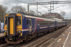 Northern 156449 (Mike McNiven) Tags: arriva railnorth northern first barbie scotrail manchester manchesterairport airport healdgreen preston dmu diesel multipleunit bolton sprinter supersprinter