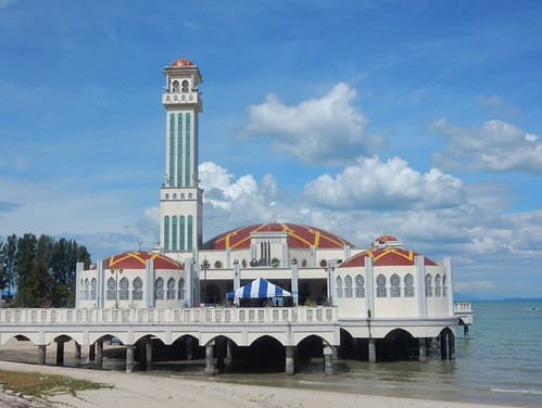 Penang's Floating Mosque