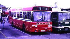 Slide 134-89 (Steve Guess) Tags: addlestone surrey england gb uk westlink stanwell buses ls leyland national ayr304t ls304