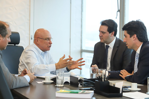 Reunião com Secretário Especial de Desestatização - Salim Mattar