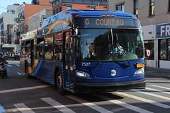 IMG_5131 (GojiMet86) Tags: mta nyc new york city bus buses 2018 xd40 7527 subway shuttle manhattan bedford avenue