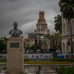 Cuba Havana Bust of Martin Morua Delgado-1 (jdl1963) Tags: cuba havana travel nikon d810 bust martin morua delgado building architecture decay