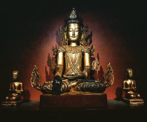 #buddah #buddhism #southeastasia #thailand #thai #religion #gold #walters #waltersartmuseum #baltimore #history