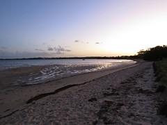 Thompsons Beach sunset... (Anni - with camera) Tags: beach mudflats sand sunset moretonbay thompsonsbeach sequeensland