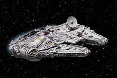 Millennium Falcon Mark II (ROTJ) (Marshal Banana) Tags: lego starwars millenniumfalcon falcon moc 32