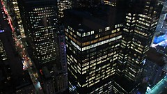 Night Time Is the Right Time (Robert Saucier) Tags: newyork newyorkcity nyc manhattan nuit night nightshot noflash building architecture vudenhaut plongée gratteciel skyscraper residenceinn marriott 5905 fenêtre window vitre glass cristal noir black bleu blue img3901 nighttimeistherighttime raycharles 57thstreet