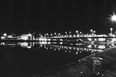 night walk in Stuttgart (andreasmaurer89) Tags: leicam3 leica m3 ilford panf iso50 voigtländercolorskopar21mmf4 voigtländer 21mm f16 f22 night blackandwhite rodinal rodinal1100 longtermexposure film analog schwarzweis monocrom stuttgart badcannstatt
