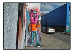 STREET ART by MOWSCODELICO (StockCarPete) Tags: mowscodelico glor streetart streetartcharacter eye graffiti london uk londonstreetart cap urbanart