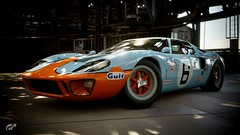 Ford GT40 (chumako@bellsouth.net) Tags: scapes gaming ps4 playstation gtsport cars racecar vintage lemans gt40 ford gulf
