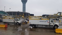 ready and waiting (army.arch) Tags: chicago illinois il ohare international airport american airlines terminal3 concourseg rotunda gertrudekerbis deicing trucks
