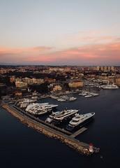 Marine & Yachts (tmpro.croatia) Tags: croatia marine yachts city europe air sky drone dji