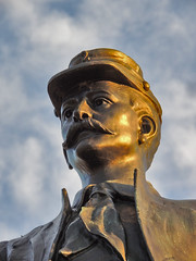 Face of the 73rd NY (George Neat) Tags: excelsior field fourth 2nd fire zouaves 73rd new york gettysburg american civilwar adams county pa pennsylvania union confederate north south unitedstates america army potomac northern virginia history landscape scenic scenery historical battlefield national park monument memorial statue july 1 2 3 1863 george neat patriot portraits usa csa neatroadtrips outside