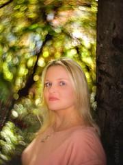 Kind of Magic ... (d heinz) Tags: petzval porträt swirl bokeh pictorialism kindofmagic forbiddenforest