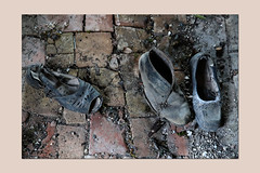 shoes (sandrorotonaria) Tags: shoes old ciociaria arpino