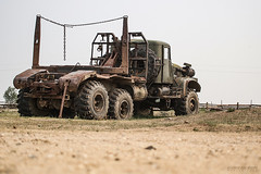 Somewhere in Russia (Rawcar.com Photography) Tags: kraz truck rawcar russia soviet abandoned wreck