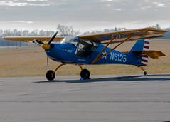 N6125 Aerotrek A220 (Victor Dvorak) Tags: n6125 aerotreka220 i74 grimesfield urbana ohio aviation aircraft airplane flying lightsport generalaviation nikon d300s 80400mmf4556ded