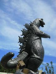 Aurora Godzilla Model ( 1964 ) (Donald Deveau) Tags: auroramodel aurora toho godzilla monster kaiju