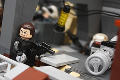 Factions 01: Cpt. Bannon (darth85) Tags: starwars lego swlego legostarwars legosw moc star wars destroyer jakku covert mission empire imperial factions remnant squad rebel minifigure minifig