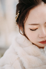 Hokkaido (Taotzu Chang) Tags: hokkaido 北海道 bride snow taotzuchang 張道慈 winter wedding 海外婚紗