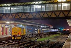 Workington, Last Working (Richie B.) Tags: 2c40 workington main railway station cumbria arriva northern trains drs direct rail services english electric british class 37 37424