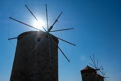 windmills (albert.aschl) Tags: griechenland insel rhodos greece island rhodes windmills windmühlen