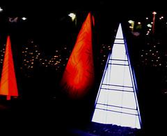Christmas Trees (earthdog) Tags: 2018 nikon d5600 nikond5600 18300mmf3563 greatamerica santaclara amusementpark themepark christmas winterfest gawinterfest night light lowlight tree christmastree decoration