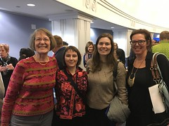 Moms Clean Air Force staff with Dr. Ruth Etzel