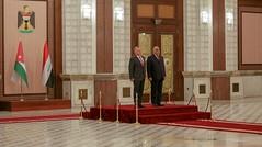 مراسم استقبال رسمية لجلالة الملك عبدالله الثاني لدى وصوله القصر الحكومي ببغداد (Royal Hashemite Court) Tags: iraq jordan kingabdullahii kingabdullah adil abdul mahdi iraqi government جلالة الملك عبدالله الثاني الأردن العراق الحكومة العراقية