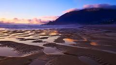 Tidal pools (Jim Nix / Nomadic Pursuits) Tags: jimnix nomadicpursuits travel sunset oregon manzanita beach coast pacificocean pacificnorthwest golden hour luminar skylum sony sonya7ii 1635mm wideangle