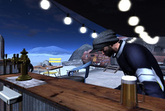 Stuck (Stewz Wrench) Tags: sl secondlife beer bar alonetime thought thinking dontmindit catwa gianni male winter