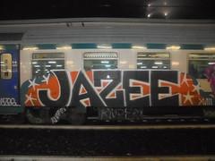 50639508_757875104586109_9049227807539855360_n (en-ri) Tags: jazee rupe nero bianco arancione xviii 18 2018 train torino graffiti writing stelline