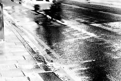 Waiting for the 18 Bus 2 Negative (Callums art) Tags: cotteridge city birmingham brum beautiful b30 unitedkingdom kingsnorton evening winter nightphotographer nightphotography night nightphoto street streetlight lights light illuminate urban wet rain water negatives negative negativephoto photoshop photomanipulation photonegative photonegatives invert invertedphoto inverted