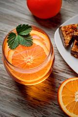 orange beverage (The LightCatcher) Tags: color stilllife food orabge beverage cookies tabletop sonya7ii