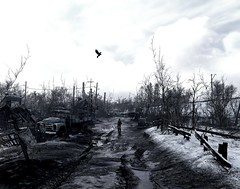 """Road For The One"" (HodgeDogs) Tags: rtx pc games gaming photography 4aengine 4agames nvidia metroexodus explore people bird sky"