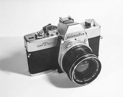 Minolta SRT-200 (AnalogBob) Tags: film largeformat paperneg papernegative ilfordmultigradeiv rcpaper vintagecamera filmcamera 4x5 speedgraphic 1941speedgraphic minoltasrt200 35mmfilmcamera