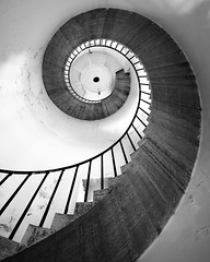 Light house at Hirsholmene (niels.daugaard) Tags: stairs trapper light house fyr fyrtårn bw sh indoor shapes arkitektur architecture