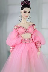 Fashion Royalty Agnes Demeanor (Regina&Galiana) Tags: fashionroyalty doll fashiondoll fashion outfit pink ooak forsale agnes luxelifeconvention