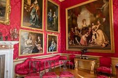 Red Drawing Room | Blenheim Palace | Feb 2019-21 (Paul Dykes) Tags: woodstock england unitedkingdom gb uk blenheimpalace johnvanbrugh englishbaroque duke marlborough churchill