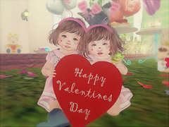 Valentine's day 2019 (daisypea) Tags: flickr spam art daisy crowley secondlife second life sl roleplay toddler child kid children tot td bebe bad seed toddleedoo colour color draw paint crayon photo photography picture rp cute sweet adorable baby little girl daughter sister family look day lotd landscape school create creativity creative sweetpea portrait snap snapshot quick dress up dressup person people play playful adore 2006 flower illustration daydream dream twin valentines valentine vday 2019