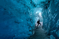 Exploration (- Etude -) Tags: iceland ice cave sony 2018 sonyalpha zachchang blue