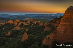 Sunrise over Las Medulas (Daveoffshore) Tags: medulas spain sandstone sunrise rock forrest tree picturesque hill