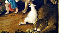 Hicks, The Peaceable Kingdom, detail